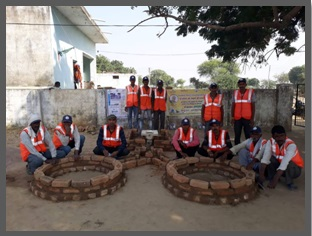 RPL Swatch Bharat Mission training program at Gurusarai Block Dist. Jhansi (U.P.)