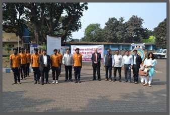 Security guard training program inaugurated by Mr. Sudarshan Garg