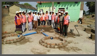 Swachha Bharat Mission skill training by OP Jindal Community College